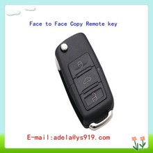 HOT SALE New flip 3 button face to face copy remote key for fixed code.