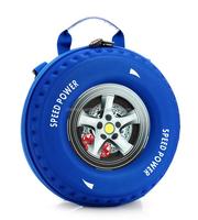 Boy's 3D Cartoon Animation Speed Power Children Backpack Kids Mini Wheel Bag Baby Girls And Boys EVA Auto Tyre School Bag
