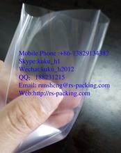 Crystal Clear Polypropylene Carte-De-Visite Card Sleeve