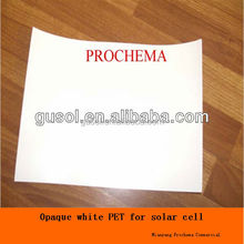 hang tag applicable opaque white PET film