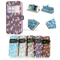 2014 wholesale new arrival flower shape fashion and tradition mobile phone case for Iphone5,5s