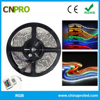 dimmable non-waterproof 5050 rgb led strip light OEM available