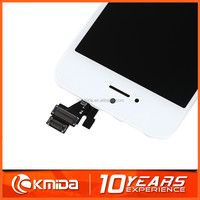 promotion price have stock OEM lcd screen for iphone 5,white/black color for iphone 5 digitizer lcd assembly,