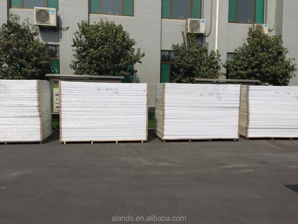 Printing rigid pvc sheets