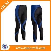 2014 New design custom compression tights, high quality compression running wear