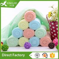 100%cotton light color terry face towel
