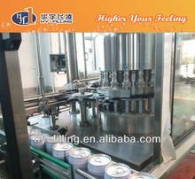 Energy drink aluminum can filling machine