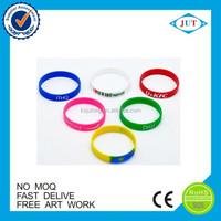 custom wedding souvenirs bulk cheap silicon bracelet silicone