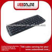 Portable folder wireless bluetooth keyboard for galaxy tab,ipad,iphone,black