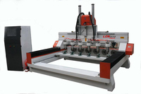 LD-1615 Cnc Cylindrical 4 Axis cnc router And cnc Engraving Machine With Factory Price