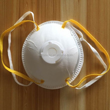 OEM customized active carbon N95 disposable cup shaped particulate surgical respirator masks