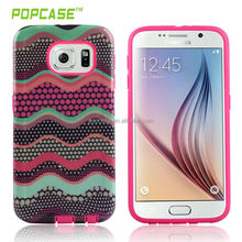Made by 9 years experience factory, cutomized cover for samsung galaxy s6