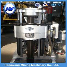 Light weight 350 kgs HW-130T aluminium deep mini water well drill rig for sale