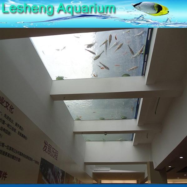 الأشعة فوق البنفسجية مقاومة ورأس الجانب نافذة الاكريليك لحوض السمك