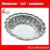 Disposable High Quality Flower Shape Small Round Aluminium Foil Containers & Pan & Dishes