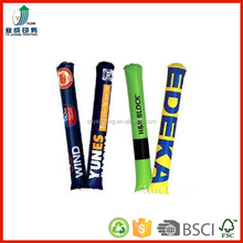 pe inflatable stick, advertising promotional inflatable cheering,eco printed led cheering sticks wholesales manufacturer