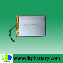 DTP585068 3.7v 2000mah rechargeable battery