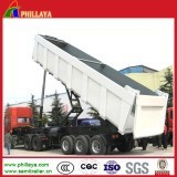 Hydraulic Side/Rear Dumper Tractor Tipper Trailer(20-60M3 Optional)