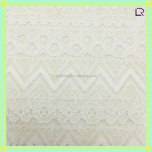 warp knitting lace with flower pattern