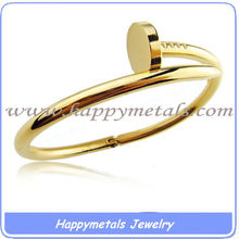 happymetals new product stainless steel just a nail bracelet (B1353)