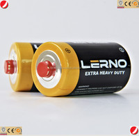 top cell brand PVC jacket dry cell battery