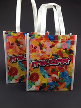happy birthday non woven packing bag