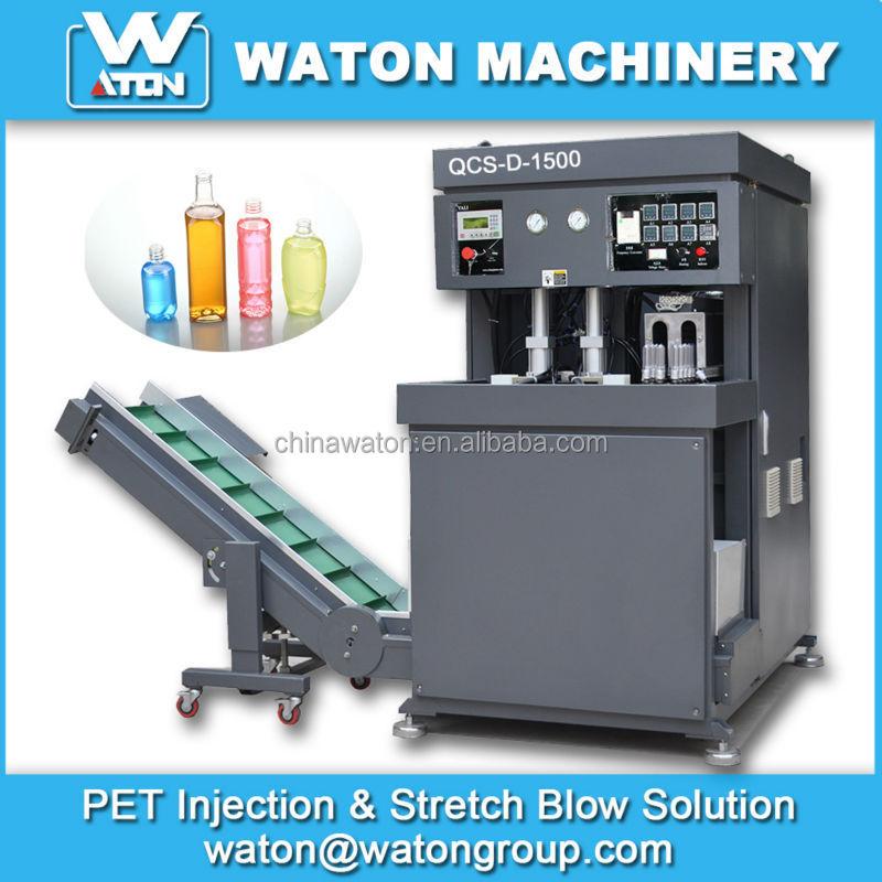 semi automatic pet blowing machine