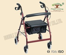 Factory direct Sales Europe style rollator walker with CE