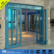 glass door mechanism, automatic sliding glass door, aluminum frame, tempered glass
