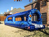 the most popular blue inflatable slip and water slidefor sale