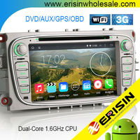 "Erisin ES2608F 7"" HD Mondeo 2 Din Auto Radio Car DVD GPS Navigation"