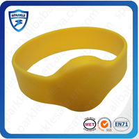 Customized velcro uhf epc gen2 rfid chip wristband for Event access control