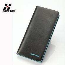 Men's genuine leather travel wallet fashion long wallet