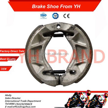 factory sale 70cc and 125cc motorcycle brake shoe