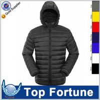 Customized Wholesale man winter puffy jacket