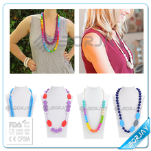 Hot selling 2015 teething bead chain necklace