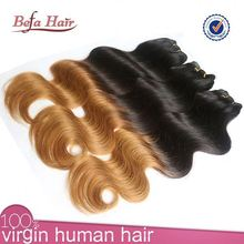 ombre micro loop ring hair extension colored two tone hair weave