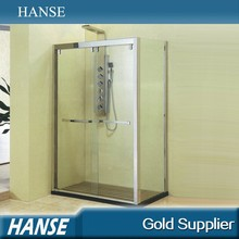 HS-SR868 2 piece door rectangle tray prefab beautiful shower enclosures