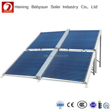 split low pressure ETC solar collector, solar manifold made in China