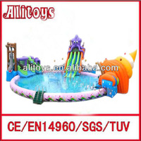 Giant inflatable water soccer field/inflatable water roller