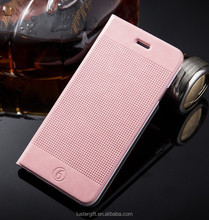 Mobile phone case filp leather pu stand cover for iphone 6 / 6 plus