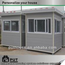 custom container kiosks/guard house