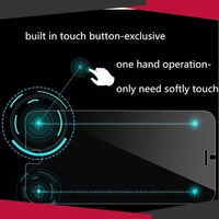 Wholesale 0.3mm Ultra Thin HD Tempered Glass Film Smart Touch Screen Protector Guard Cover For Samsung S4 W Shortcut Key
