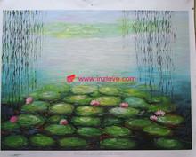 beautiful lotus claude monet famous art paintings reproduction