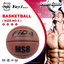 the best quality PU basketball for size 6 women use