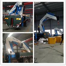 Small mobile telescopic hydraulic crane for sale