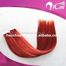 High quality 100% brazilian human remy hair tape hair extension skin weft