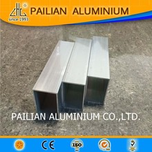 Wow!wood grain aluminium tubes frame for top hang window,extruded aluminium brass tube,factory aluminium tube for antenna China