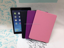 Card Holder hybrid pu stripe leather cover case for iPad 3