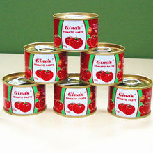Marque gina's fabricants ketchup aux tomates